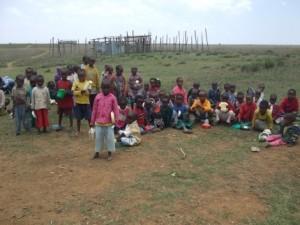 Jonge Samburu in 2009